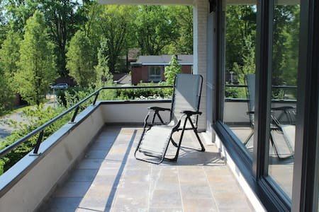 Appartement with balcony and pool - Kruibeke - Lejlighed