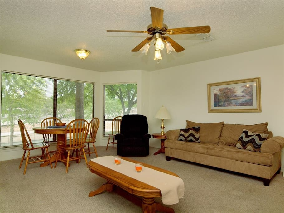 Comal River 317-Living Room