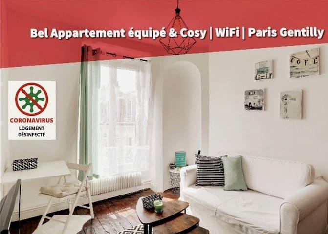 #Coworking Cosy | Paris Gentilly