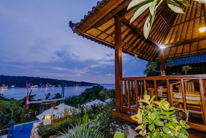 sea view 2 @ sunday huts lembongan