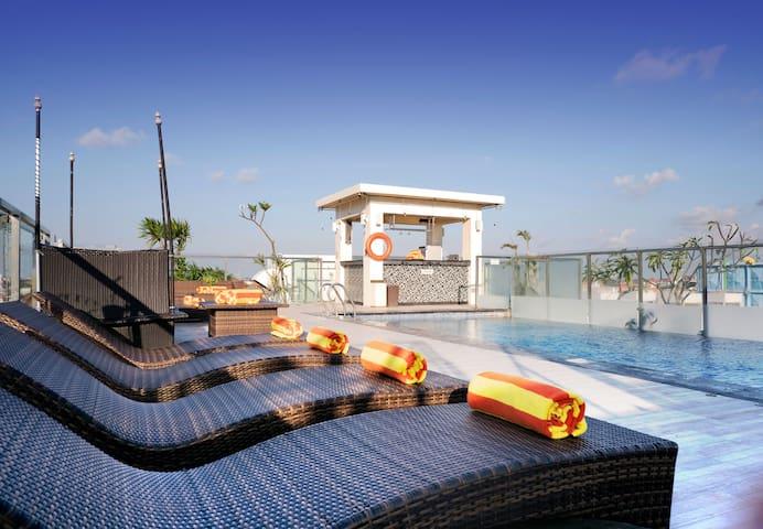 Zia Kuta Hotel - Room&Breakfast close to the beach
