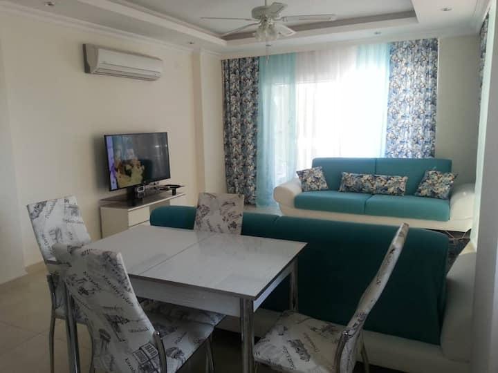 Apartment 2 + 1 in Avsallar