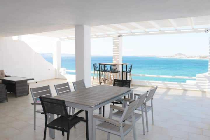 Apricot and Sea Villa Portara 2-bedroom