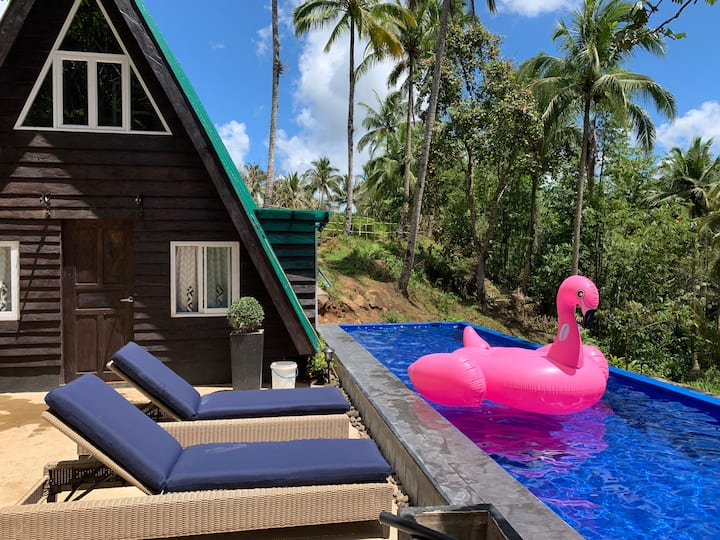 A House Lucban Private Pool and Nature Friendly