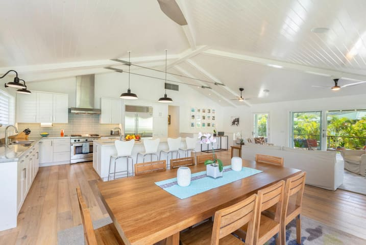 Luxury, Upscale Hanalei Home!  Short walk to Hanalei Village/Bay.  TVNC#5126