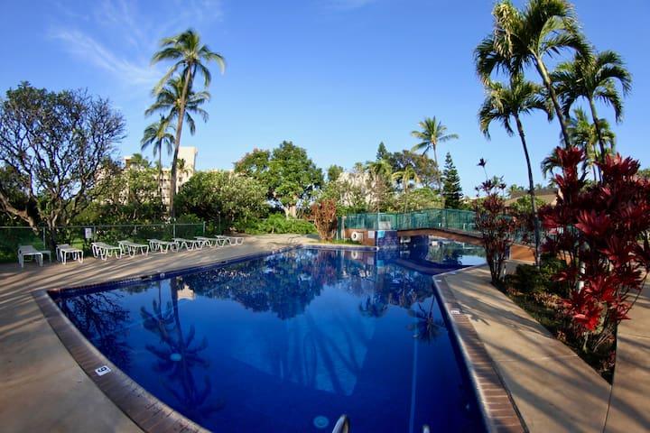 Koa Resort 2Bedr/2Ba in Tropical Garden near Beach