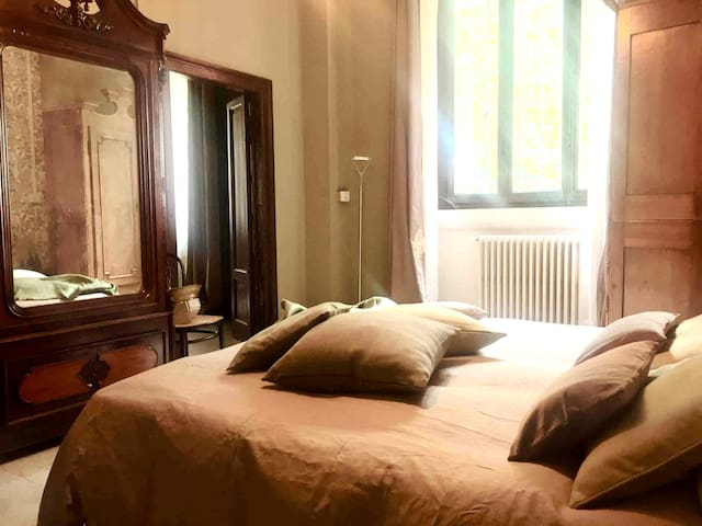 Appartamento in villa immersa nel verde sul Ticino