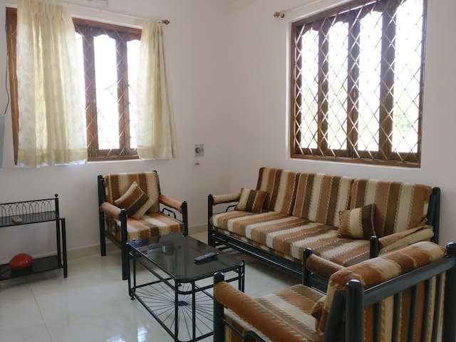 1 Bhk Apartment with Terrace @ Varca - Varca - Lejlighed