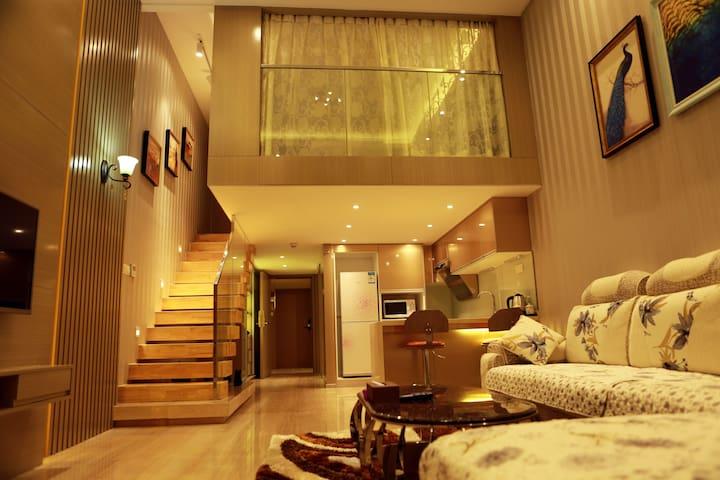 广州曼笛LOFT豪华大床房 - Guangzhou