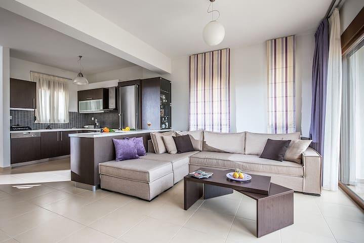 Luxury Maisonette by the sea - Βαθειανός Κάμπος - Casa