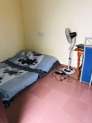 Un lit de deux place