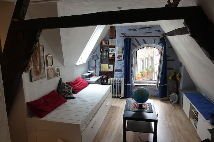 Cozy Apartment in 14th Century Historic Building