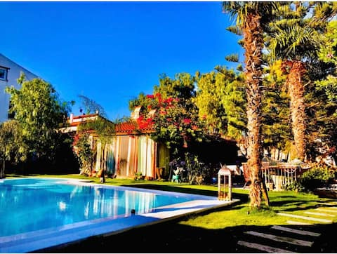 1+1 luxury villa with private pool and garden