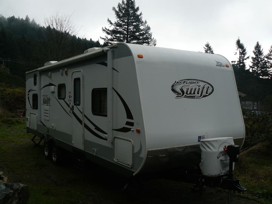 Travel Trailer For Holiday Camping Campers Rvs For Rent In Victoria British Columbia Canada