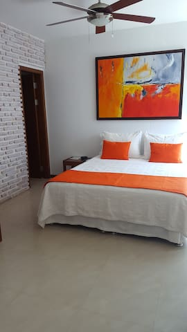 Apartment with view to the bay of cartagena -1404A - Cartagena - House