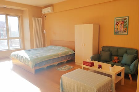 Sunshine Apartment~京东总部~亦庄经海路地铁站附近~阳光园景公寓@暖阳溪语
