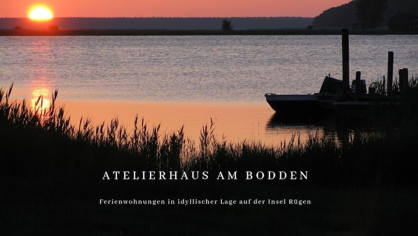 ATELIERHAUS AM BODDEN  Insel Rügen  Wohnung (C)