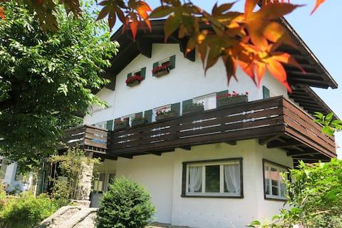 Das Landhaus Küchler im Herzen von Garmisch-Partenkirchen