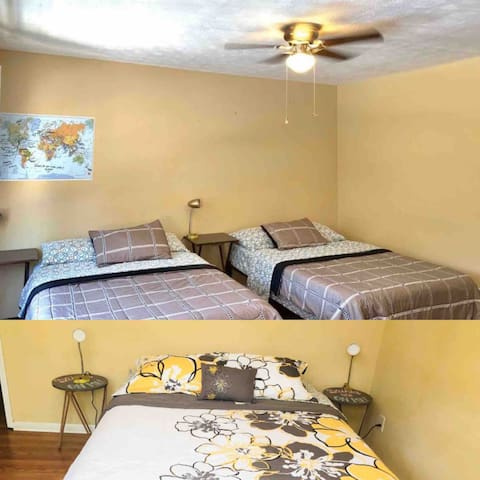 Entire Floor with 2 Rooms/5 Points/No Extra Fees
