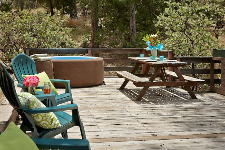 Blue Moon Retreat with spa - Idyllwild-Pine Cove - Casa