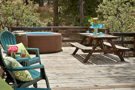 Blue Moon Retreat with spa - Idyllwild-Pine Cove - Hus