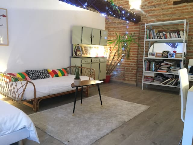 Studio30 m 2 Perpignan centre - Perpignan  - Apartemen