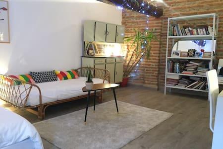 Studio30 m 2 Perpignan centre - Perpignan  - Wohnung