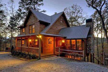 On the Fly- Private and Secluded   Riverside   Ellijay