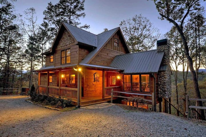 On the Fly- Private and Secluded | Riverside | Ellijay