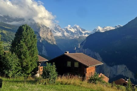 Cosy Chalet with Stunning View - Lauterbrunnen
