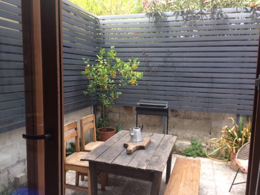 jardin exterior