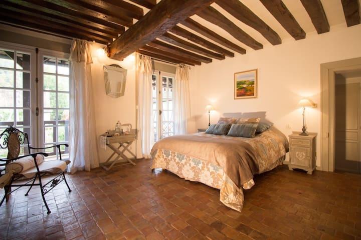 Chambre Camille au Vieux Logis Demeure du XVI ième