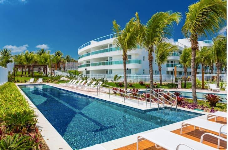 Lindo Flat-Resort em Natal/RN à beira-mar.