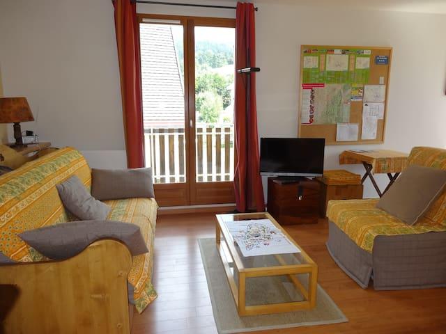 Appartement calme, proche centre, vue sur montagne