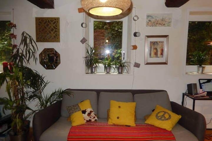 charmante maison proche gare - Rouen - Casa