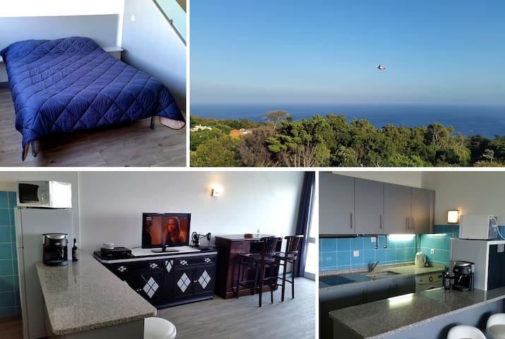 Cozy Apartment Rooftop, Fantastic Sea View! - Machico - Pis