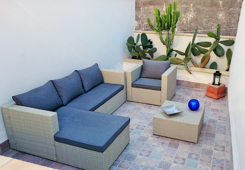 Terrace: relax area