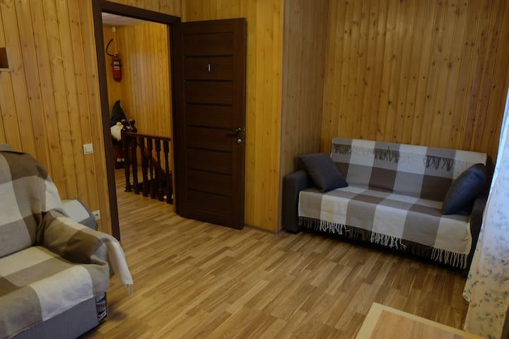 Гостиница у Озера - коттедж (комната 1)