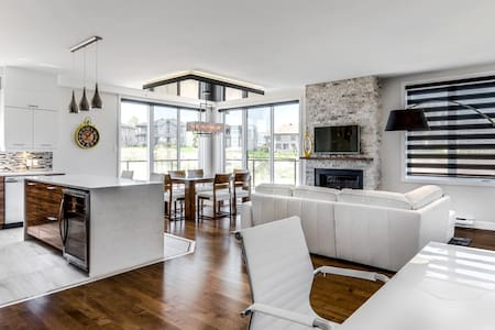 Luxury penthouse 5 minutes from downtown Quebec - Ville de Québec - 公寓