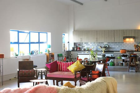 Private room in modern London shared warehouse