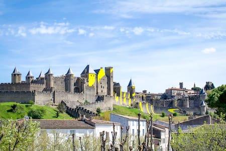 Carcassonne Centre Appart Médiéval Cité Parking