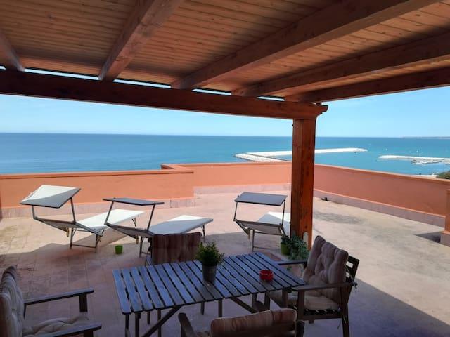 Splendido attico Giusy, vista mare