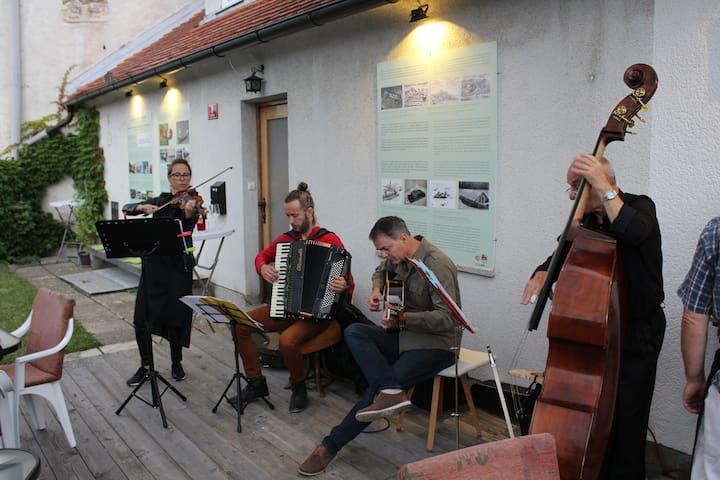 Charming Suite 2BR w/Drava Riverview in Lent