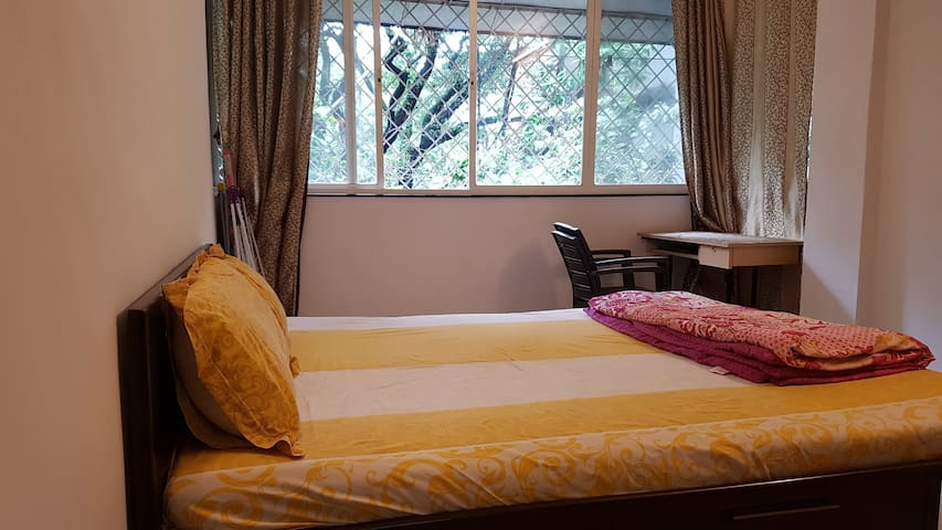 Entire Apt w AC Bedroom - 3 mins from Osho Intrnl