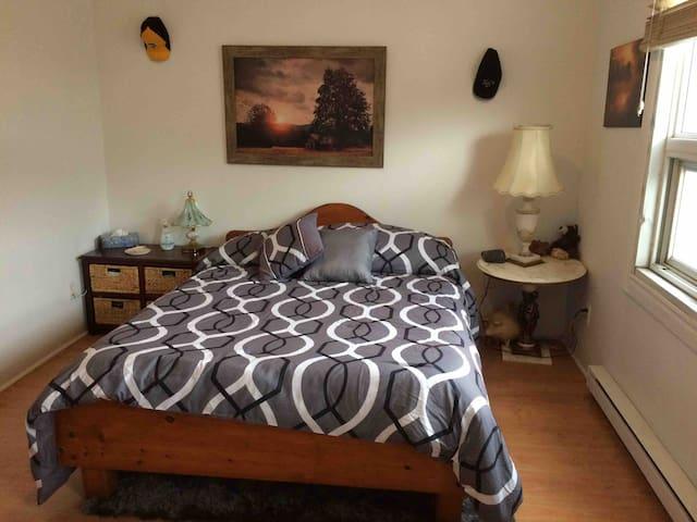 Large cozy apartment in safe & fun neighborhood
