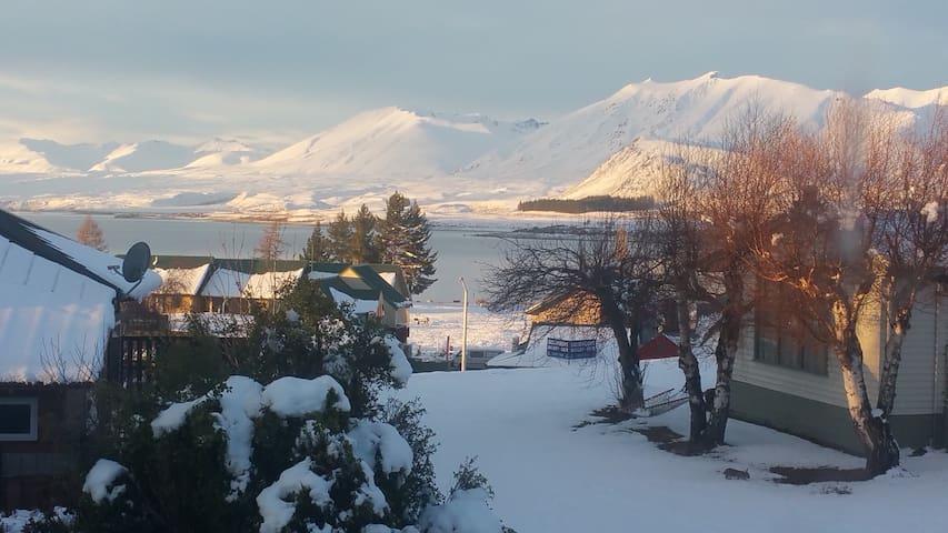 Winter view from Araki's deck