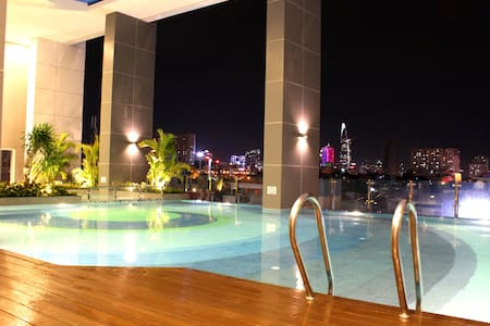 Lovely City View//2BR & Great Pool!! - phường 3, Q.4 - Apartment