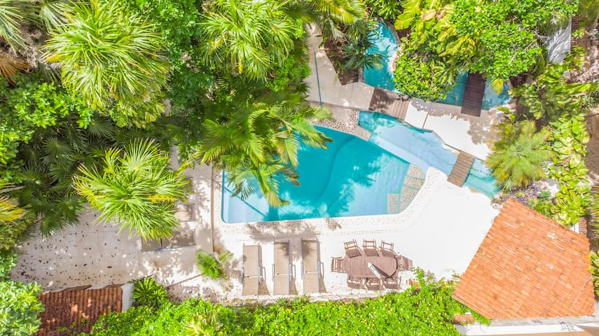 Villa In Playa del Carmen, 60 meter from the beach