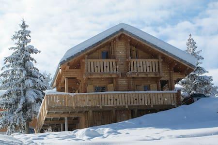 Chalet cosy en bois massif - Le Dévoluy