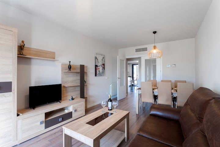 Apartamento en fincaprivada MadridRío 6PAX